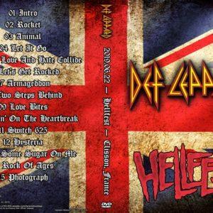 Def Leppard 2019-06-22 Hellfest, Clisson, France DVD