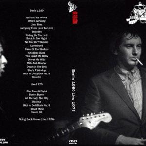 Dr Feelgood 1980 Berlin 1975 Live DVD