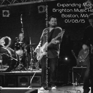Expanding Man 2015-01-08 Brighton Music Hall, Boston, MA DVD