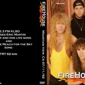Firehouse 1992-07-11 Mountain View, CA DVD