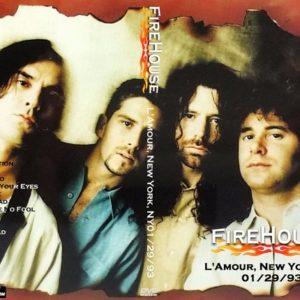Firehouse 1993-01-29 L'Amour, New York, NY DVD