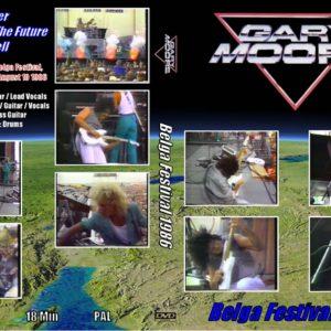 Gary Moore 1986-08-10 Belga Festival, Oostende, Belgium DVD