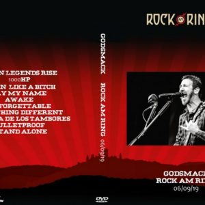 Godsmack 2019-06-09 Rock Am Ring DVD