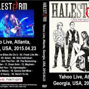 Halestorm 2015-04-23 Atlanta, GA DVD