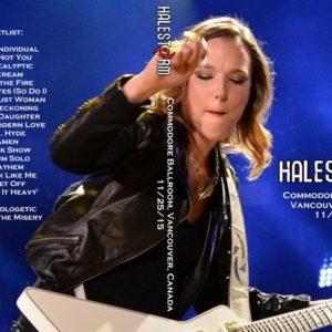 Halestorm 2015-11-25 Vancouver, Canada DVD