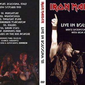 Iron Maiden 1981-10-26 Palasport, Bologna, Italy DVD