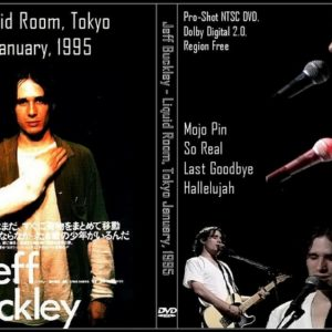 Jeff Buckley 1995-01-01 Liquid Room, Tokyo, Japan DVD