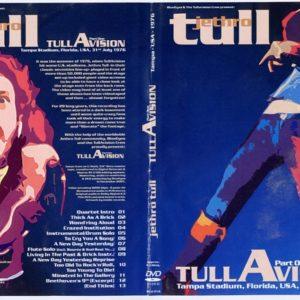 Jethro Tull 1976-07-31 Tullavision, Tampa, FL DVD