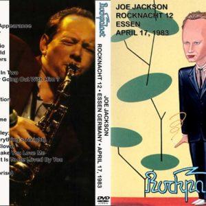 Joe Jackson 1983-04-17 Essen, Germany DVD