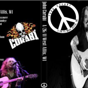 John Corabi 2011-1-26 West Allis, WI DVD