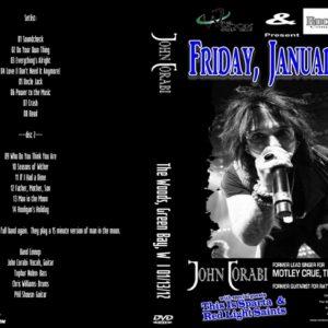 John Corabi 2012-01-13 The Woods, Green Bay, WI 2 DVD