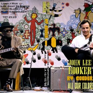 John Lee Hooker and Ry Cooder 1992-10-10 Shoreline Amphitheatre, Mountain View, CA DVD