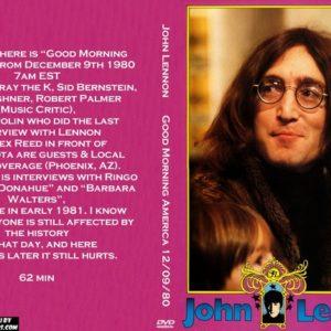 John Lennon 1980-12-09 Good Morning America DVD