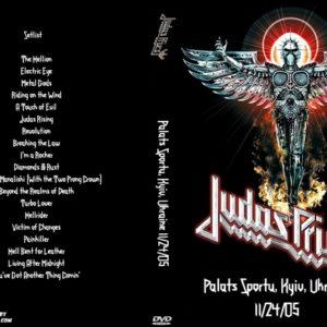 Judas Priest 2005-11-24 Palats Sportu, Kyiv, Ukraine DVD