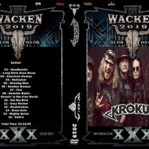 Krokus 2019-08-01 Wacken, Germany DVD