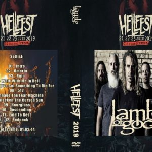 Lamb of God 2019-06-23 Hellfest, France DVD