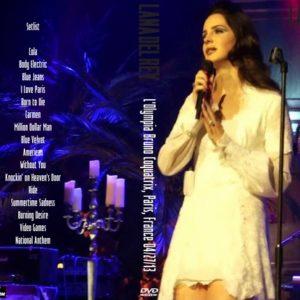 Lana Del Rey 2013-04-27 L'Olympia Bruno Coquatrix, Paris, France DVD