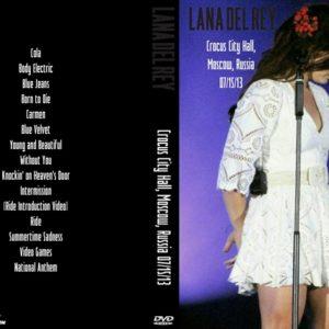 Lana Del Rey 2013-07-15 Crocus City Hall, Moscow, Russia DVD
