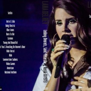 Lana Del Rey 2013-07-17 Ledovy Dvorets, Saint-Petersburg, Russia DVD