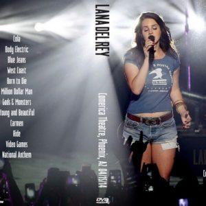 Lana Del Rey 2014-04-15 Comerica Theatre, Phoenix, AZ DVD