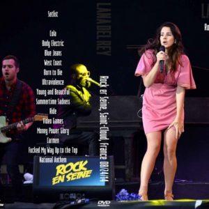 Lana Del Rey 2014-08-24 Rock er Seine, Saint-Cloud, France DVD