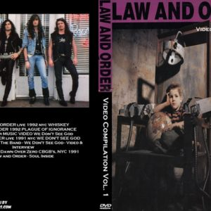 Law And Order Video Compilation Vol. 1 DVD