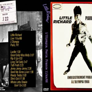Little Richard 1966 L'Olympia, Paris, France DVD