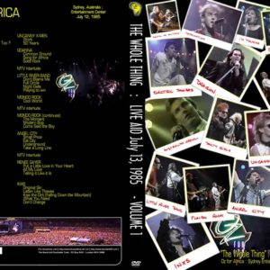 Live Aid The Whole Thing Vol.1 DVD