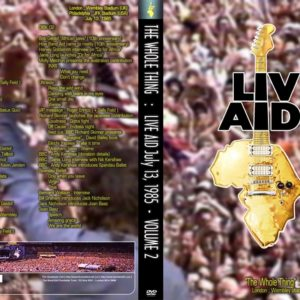 Live Aid The Whole Thing Vol.2 2 DVD