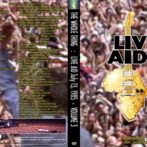 Live Aid The Whole Thing Vol.3 2 DVD
