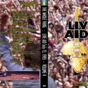 Live Aid The Whole Thing Vol.4 2 DVD