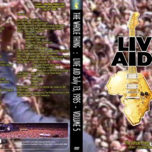 Live Aid The Whole Thing Vol.5 2 DVD