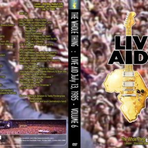 Live Aid The Whole Thing Vol.6 2 DVD