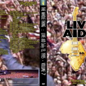 Live Aid The Whole Thing Vol.7 2 DVD