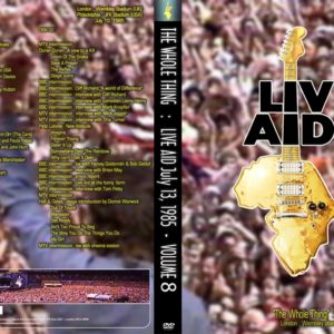 Live Aid The Whole Thing Vol.8 2 DVD