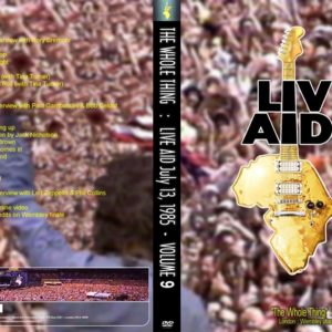 Live Aid The Whole Thing Vol.9 DVD