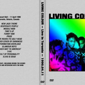 Living Colour 1990-04-11 The Concert Hall, Toronto, Canada DVD