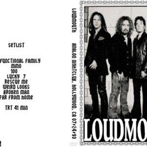Loudmouth 1993-07-24 AVALON Nightclub, Hollywood, CA DVD