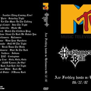 MTV Headbangers Ball 1987-06-27 Ace Frehley hosts w Helloween DVD