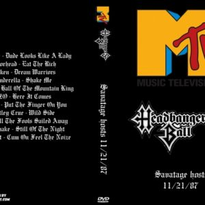 MTV Headbangers Ball 1987-11-21 Savatage hosts DVD