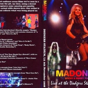 Madonna 2008-11-06 Los Angeles, CA DVD
