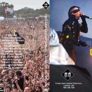 Marilyn Manson 2005-08-26 Carlling Leeds Festival, Leeds, UK DVD