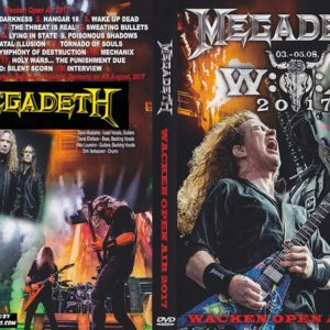 Megadeth 2017-08-04 Wacken, Germany DVD