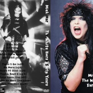 Mick Mars The White Horse Early Years DVD
