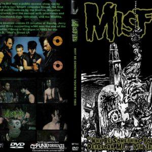 Misfits 1983-01-07 Why Be Something You're Not, Dearborn, MI DVD