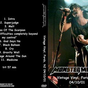 Monster Magnet 2001-04-10 Vintage Vinyl, Fords, NJ DVD