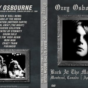 Ozzy Osbourne 1984-04-27 Forum, Montreal, Canada DVD