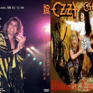 Ozzy Osbourne 1986-02-12 City Hall, New Castle, UK+ 1986-08-30 Zeppelinfeld, Nurnberg, Germany DVD