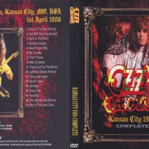 Ozzy Osbourne 1986-04-01 Kansas City, MO DVD