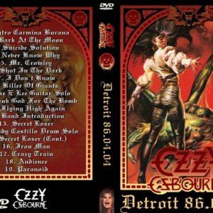 Ozzy Osbourne 1986-04-04 Detroit, MI DVD